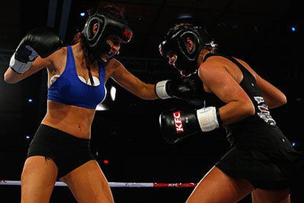 Jaime Ridge vs Rosanna Arkle fight highlights