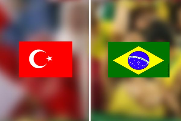 The difference between Turkish and Brazilian fans