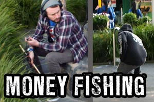 Money fishing