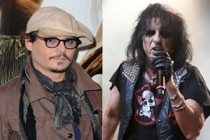 Alice Cooper offers Johnny Depp tour job