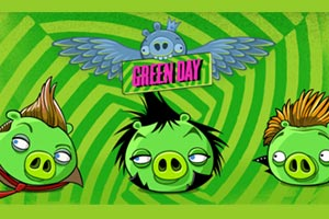 Green Day partnering with Angry Birds