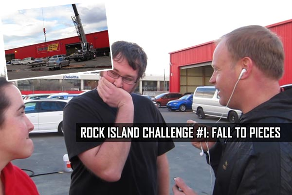 Rock Island Challenge #1: Fall To Pieces