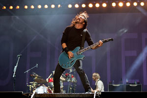 Foo Fighters close Reading Festival with triumphant tribute-filled set