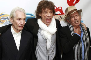 Rolling Stones back to work in Paris