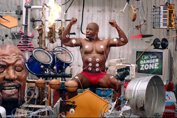 Old Spice muscle music