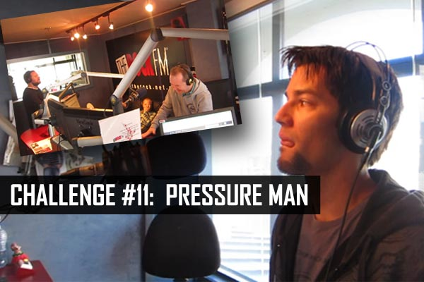 Challenge #11: Pressure Man (stand up comedy)