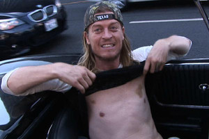 Wes Scantlin was sober during airport arrest