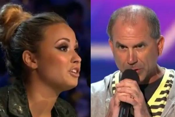X Factor contestant burns popstar judge