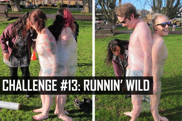 Challenge #13: Runnin' Wild (the boob race)