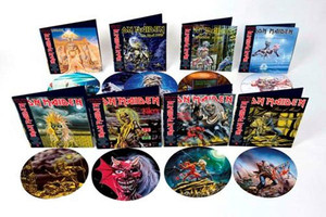 Iron Maiden to release heavyweight gatefold vinyl picture discs
