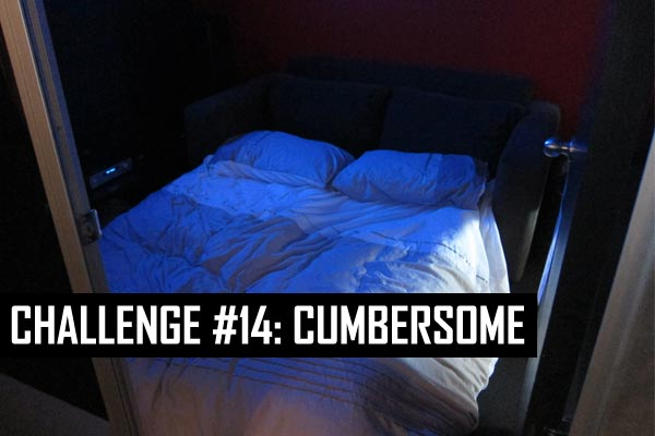 Challenge #14: Cumbersome (the ex or sex)