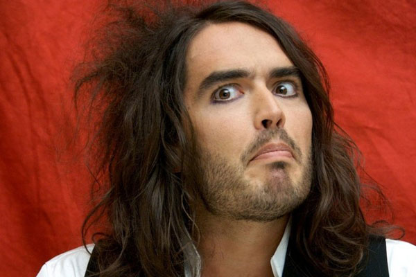 Russell Brand talks to The Rumble