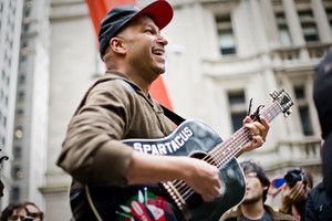 Tom Morello headlines Occupy gig