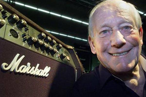 Rock stars pay tribute to Jim Marshall