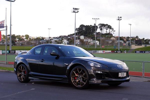 Mazda RX-8 Spirit R 2012 - Road Test