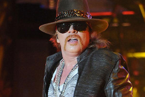 Axl Rose's lawyers order closure of photography exhibition