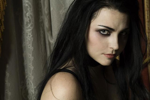 2.)  Amy Lee . . . of Evanescence