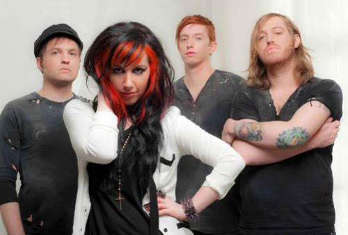 4.)  Ash Costello . . . of New Year's Day