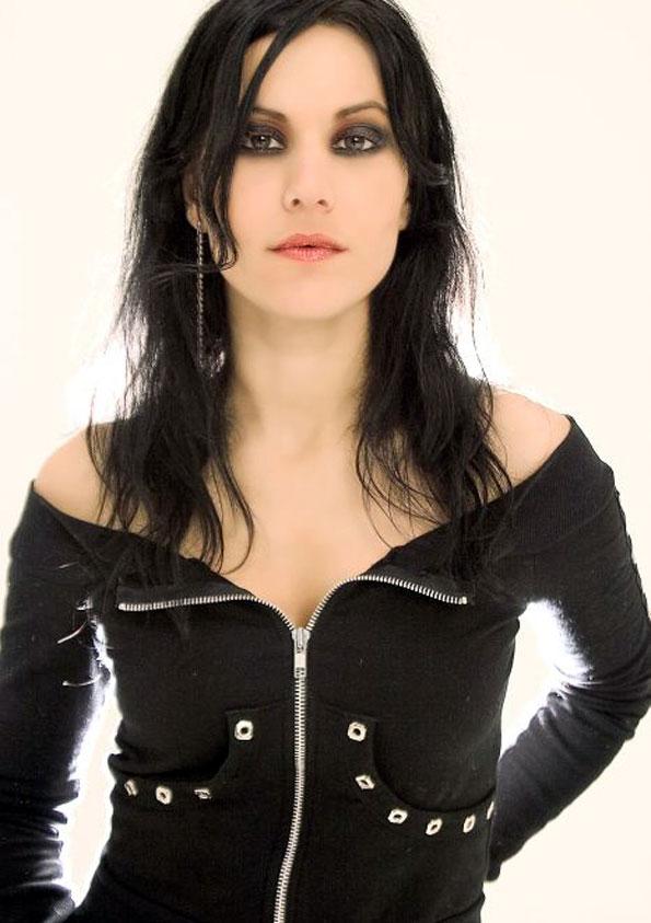 10.) Cristina Scabbia . . . of Lacuna Coil