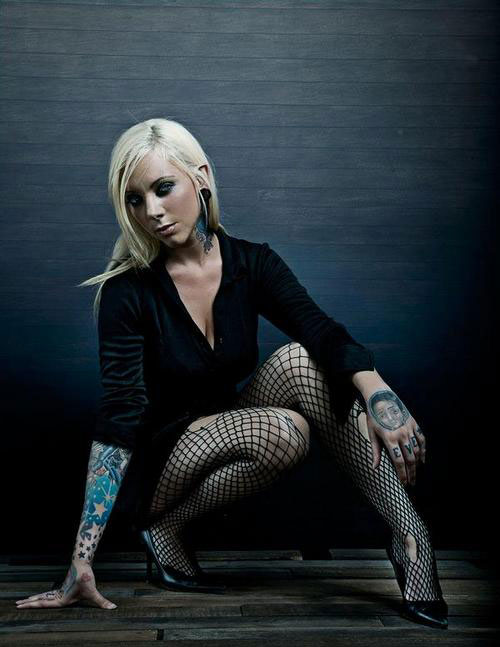 6) Maria Brink . . . In This Moment