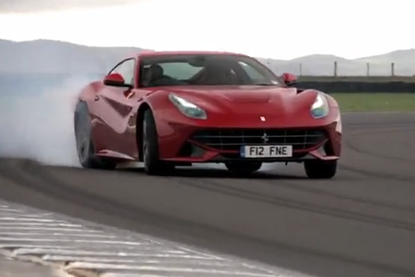 The Ferrari F12 is magnificent