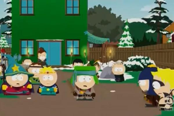 Xbox One vs PS4 on South Park
