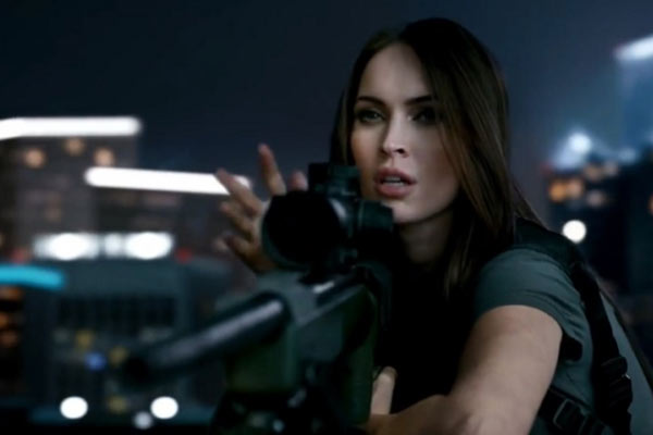 Megan Fox in latest Call Of Duty trailer