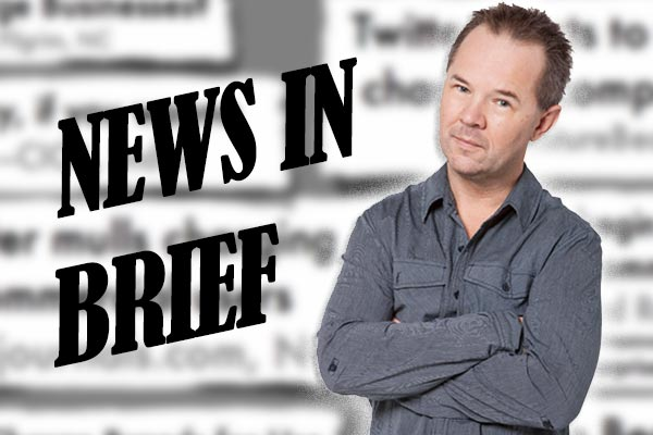 Roger does News In Brief - Rog stole Bryce's Homegrown MC gig off him, but the thieving didn't stop there. Listen to him take over Leah's News In Brief headlines....with truly awful results.