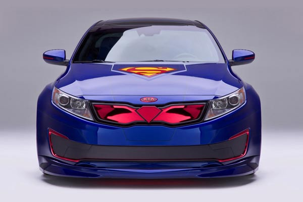 2013 Kia Optima Hybrid Superman