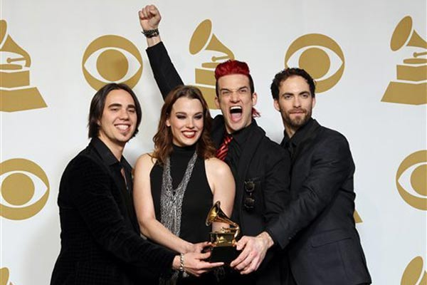 Arejay Hale's girlfriend hospitalised after Grammy awards