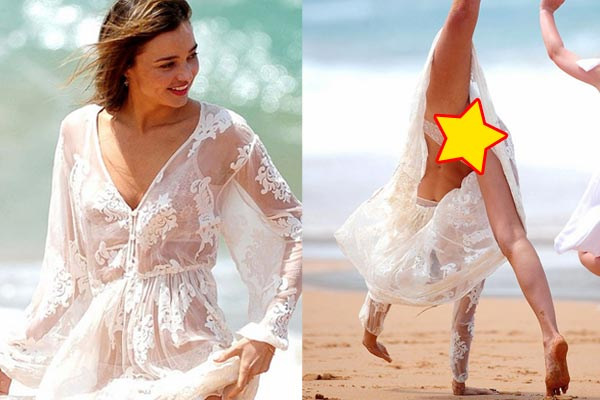 Miranda Kerr's near-pornagraphic cartwheels
