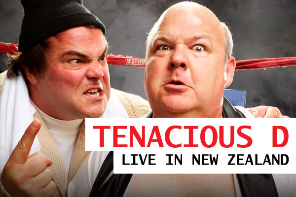 Tenacious D are coming to NZ