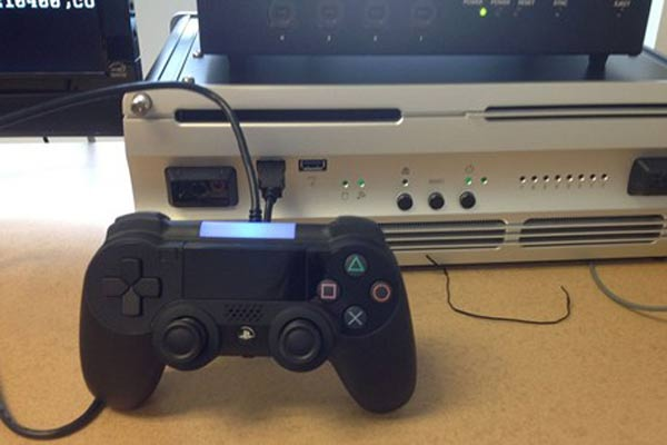 Photo of 'prototype PlayStation 4' controller leaked