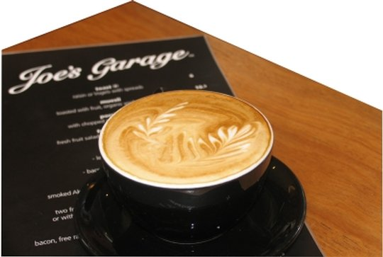 Joes Garage Coffee Fix!