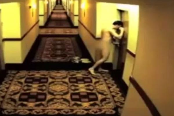 Man locks himself out of hotel room while naked
