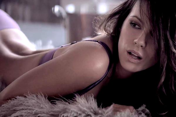 Kate Beckinsale poses for Esquire