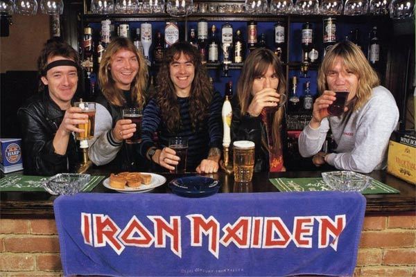 Iron Maiden launch own beer range