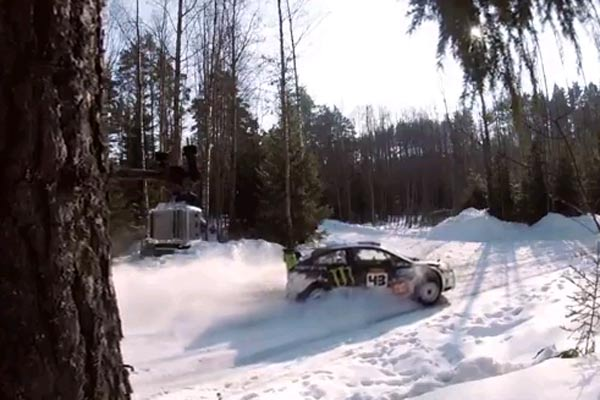 Drifting in Russia