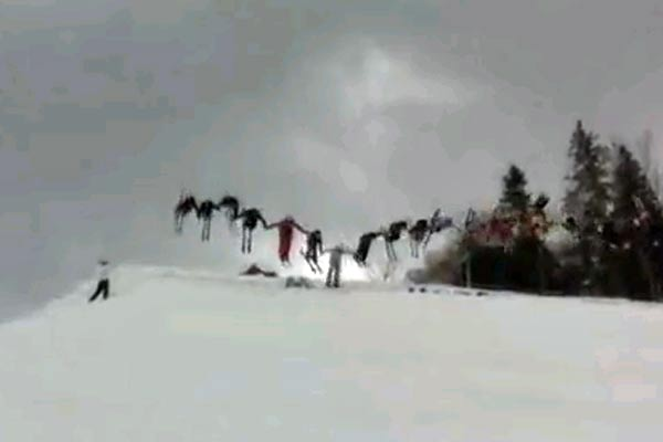 30 Skiier backflip