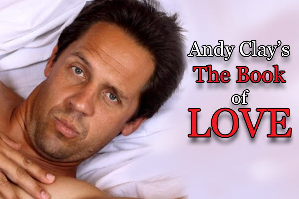 Comedian Andy Clay dishes out the love advice