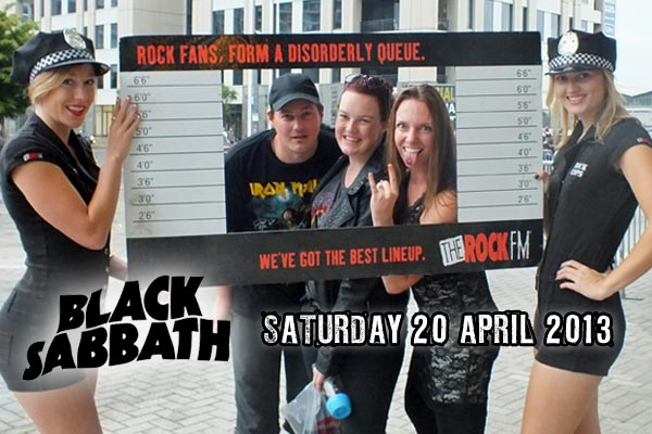 Black Sabbath photos (Saturday concert)