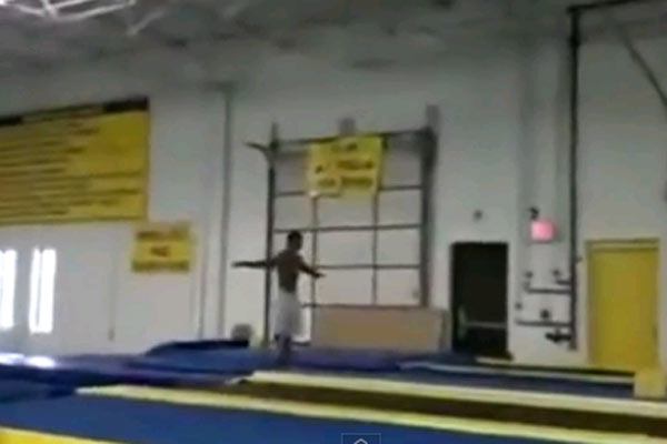 Backflipping like a boss