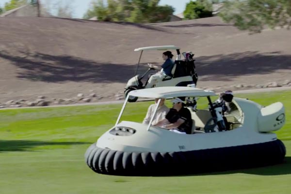 Bubba's Hovercraft golf cart