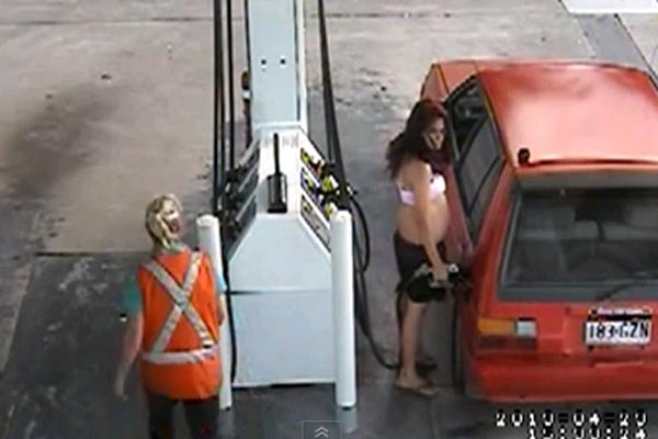 Stealing gas, you're doing it wrong