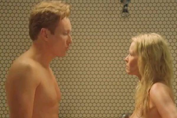 Conan O'Brien and Chelsea's nude shower fight
