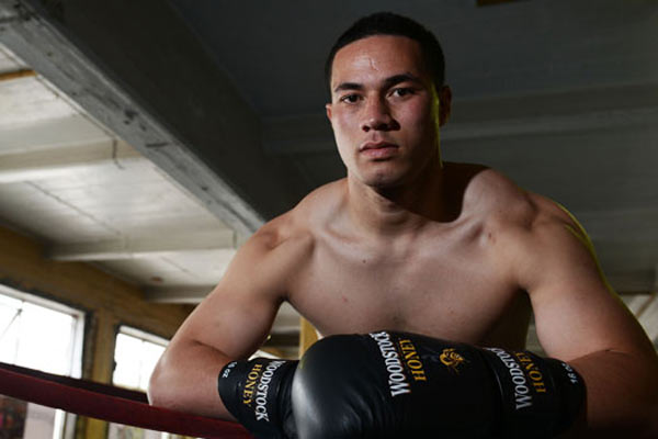 Joseph Parker with The Rumble