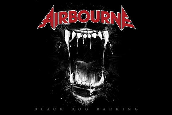 Airbourne 'Black Dog Barking' album stream