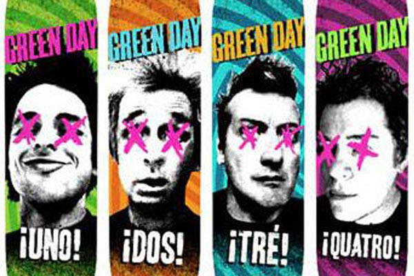Green Day releasing line of skateboards