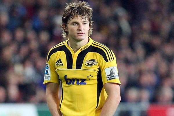 Beauden Barrett talks to the Rumble