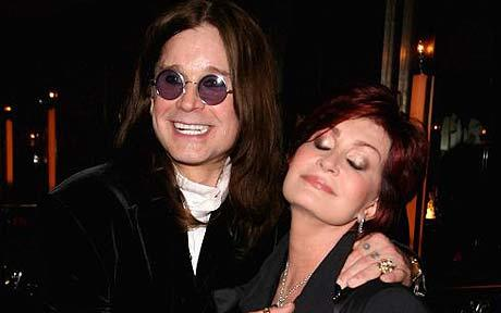 Ozzy Osbourne and Sharon Osbourne united on red carpet in LA